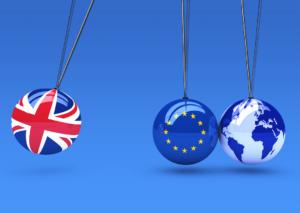 UK and EU and World image