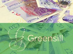 Greensill image with bank notes