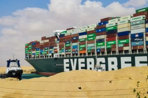 Evergiven Container Ship